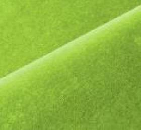 Scala - Green (131) - Bright lime green coloured fabric made with a cotton and polynosic blend