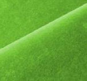 Scala - Green (132) - Fabric made from a blend of cotton and polynosic in a very bright shade of light green