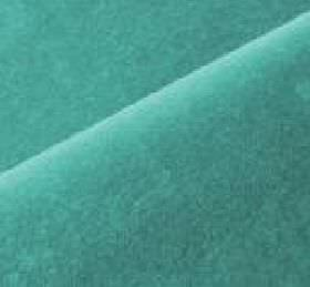 Scala - Blue28 - Dull, dusky turqoise coloured fabric made from cotton and polynosic