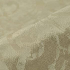Vostok - Beige Cream (4) - Two very similar shades of silvery beige making up a subtle pattern on fabric made from cotton, polyester and vis