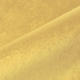 Argento - Gold - Fabric made from cotton, polyester and viscose in a dark shade of sunflower yellow