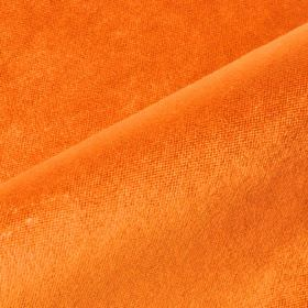 Argento - Orange - Cotton, polyester and viscose blended together into a plain fabric in a bright, summery shade of orange