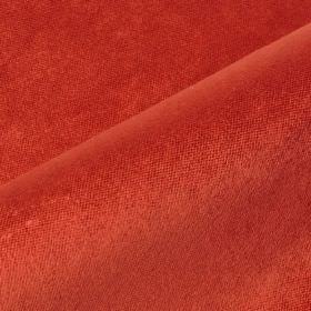 Argento - Red - Striking blood red coloured fabric made with a 35% cotton, 15% polyester and 50% viscose content