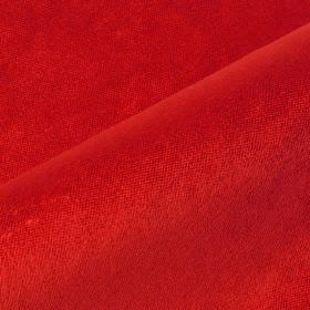 Argento - Red (12) - Cotton, polyester and viscose blended together into a bright scarlet coloured unpatterned fabric