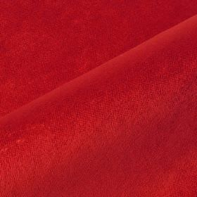 Argento - Red4 - Claret coloured cotton, polyester and viscose blend fabric
