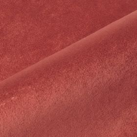 Argento - Pink Red2 - Dusky red coloured cotton, polyester and viscose blended together into a fabric with no pattern