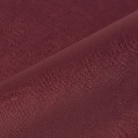 Argento - Purple2 - Dark plum coloured fabric containing a mixture of unpatterned cotton, polyester and viscose