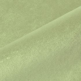 Argento - Green (30) - Plain light apple green coloured cotton, polyester and viscose blend fabric