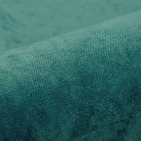 Argento - Blue4 - Deep teal coloured fabric made from a mixture of cotton, polyester and viscose