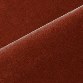 Scala - Red (28) - Fabric made from cotton and polynosic in a dark reddish brown colour