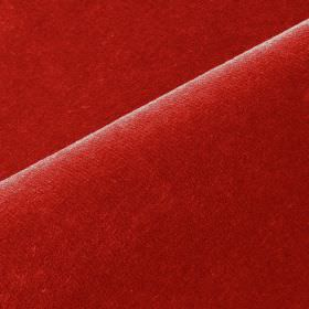 Scala - Red7 - Plain fabric made from cotton and polynosic in a bright shade of red