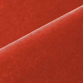 Scala - Red (31) - Scarlet coloured cotton and polynosic blend fabric