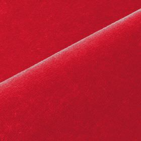 Scala - Red9 - Bright claret coloured fabric made with a 90% cotton and 10% polynosic blend