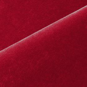Scala - Pink1 - Cherry coloured fabric made from an unpatterned combination of cotton and polynosic