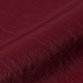 Skip 295cm - Purple - Very deep plum-red coloured polyamide and polyester blend fabric featuring a few subtly raides threads