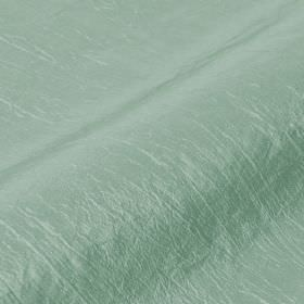 Skip 295cm - Green Grey - Polyamide and polyester blend fabric made with a few raised threads in a blend of duck egg blue and pale mint gree