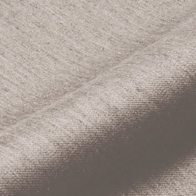 Frisky 305cm - Grey3 - Polyester and viscose blend fabric in off-white, streaked with lines in a very light shade of silver grey
