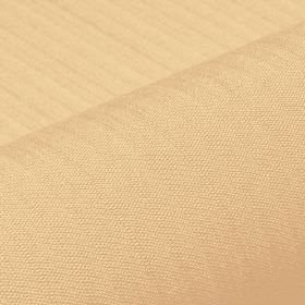 Lavina - Beige (5) - Almost imperceptible lines running across a honey coloured fabric made from a blend of polyester and Trevira CS