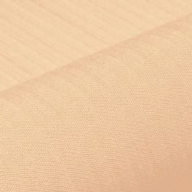 Lavina - Beige (7) - Fabric made from polyester and Trevira CS in a light shade of apricot, with a few extremely subtle lines running across i