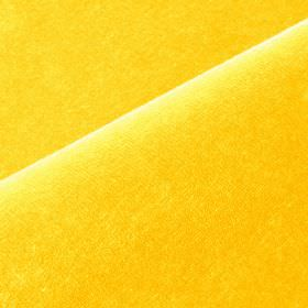 Scala - Yellow (4) - Bright lemon yellow coloured cotton and polynosic blend fabric