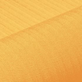 Lavina - Yellow (13) - A light, bright shade of orange covering fabric made from a mixture of polyester and Trevira CS