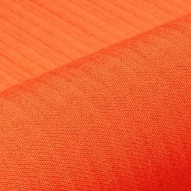 Lavina - Orange (18) - Fabric made from a very bright orange coloured blend of polyester and Trevira CS