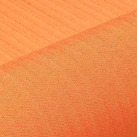 Lavina - Orange (19) - Polyester and Trevira CS blend fabric made in a light but very bright, summery shade of orange