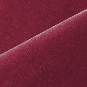 Scala - Red (43) - Maroon coloured cotton and polynosic blended together into an unpatterned fabric