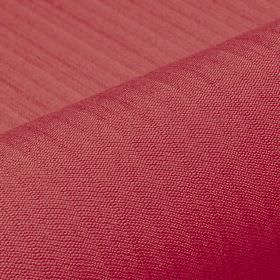 Lavina - Pink (23) - Cherry coloured polyester and Trevira CS blended together into a fabric featuring a few regular, very subtle lines