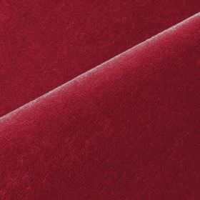 Scala - Red (44) - Fabric made from cotton and polynosic in a dark ruby red colour