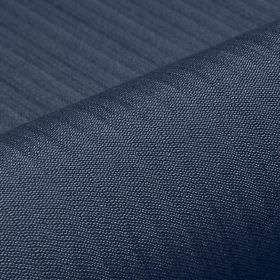 Lavina - Blue (39) - Fabric made from dark denim blue coloured polyester and Trevira CS with a regular pattern of very subtle lines