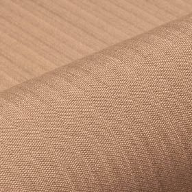 Lavina - Brown (42) - Fawn coloured fabric blended from a combination of polyester and Trevira CS, featuring a design of a regular, subtle lin