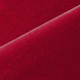 Scala - Red Brown (45) - Luxurious ruby red coloured fabric made from cotton and polynosic with no pattern