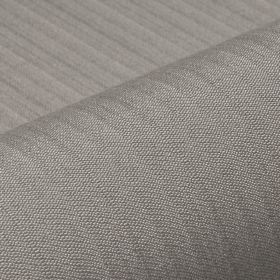 Lavina - Brown Grey (43) - Fabric made from steel grey coloured polyester and Trevira CS, with subtle, regular lines creating a simple patte