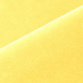 Scala - Yellow4 - Plain cotton and polynosic blend fabric made in light sherbet yellow