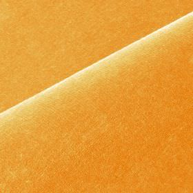 Scala - Orange - Clementine coloured fabric made with a mixed cotton and polynosic content