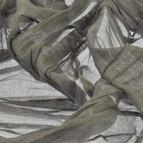 Barde - Grey (6) - Very thin fabric made from battleship grey coloured 100% polyester
