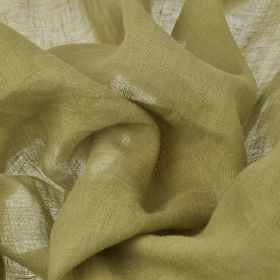 Linne - Taupe (2) - Light khaki and cream shades combined into a very thin fabric made entirely from linen