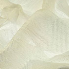 Borre CS - White (1) - Very thin ivory coloured 100% Trevira CS fabric