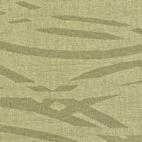 Hobro - Beige (3) - Fabric made from grey-cream and cement grey cotton, polyester and viscose, with a simple pattern of broken wavy lines
