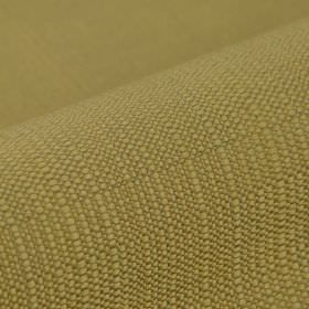 Denver - Beige (1) - Olive green coloured 100% Trevira CS fabric woven with some horizontal and vertical dark grey threads