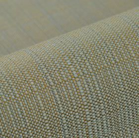 Denver - Grey - 100% Trevira CS fabric woven with threads in light brown as well as a light and a mid- shade of grey