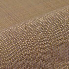 Denver - Brown - Light gold, light purple and cream coloured threads woven together into a 100% Trevira CS fabric