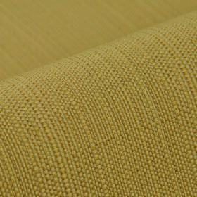 Denver - Yellow - Olive green and several different shades of brown making up a 100% Trevira CS fabric
