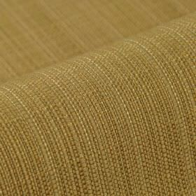 Denver - Brown1  - Threads in several different light shades of brown and cream woven together into a 100% Trevira CS fabric