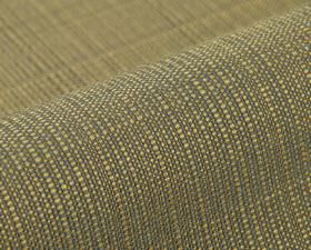 Denver - Black Brown (10) - Fabric woven from light green and grey coloured threads made from 100% Trevira CS