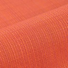 Denver - Red Orange - Fabric woven from 100% Trevira CS threads in bright orange and coral colours