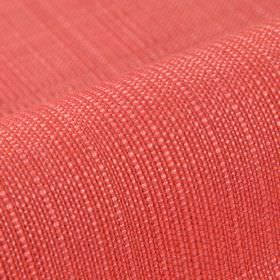 Denver - Red - Vibrant red and coral coloured fabric woven from threads made from 100% Trevira CS