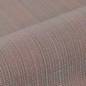 Denver - Pink Grey (17) - Light shades of pink and grey making up a fabric woven from 100% Trevira CS