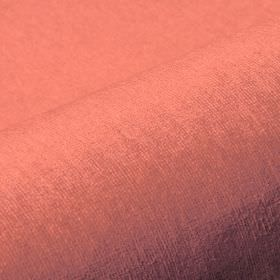 Trevira CS Velours - Pink1 - Fabric made from plain light red coloured 100% Trevira CS